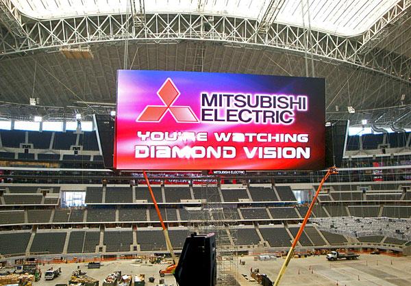 Dallas Cowboys Stadium. When Dallas Cowboys faced off