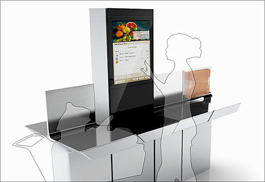 Intel Introduces Self Service Kiosk For Grocery Stores