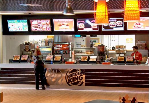 Burger Kings Locations Across United Kingdom Upgrade To