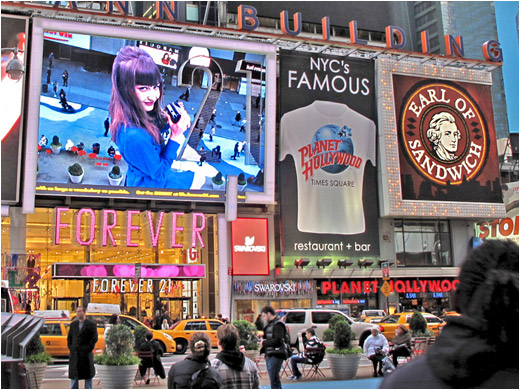 Forever 21 Goes Interactive In Times Square Digital