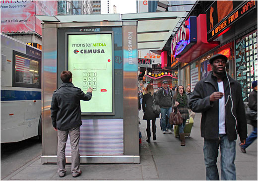 Interactive Digital Signage Coming To Times Square S