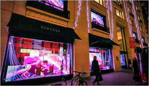 Barneys Ny Flagship Store And Walt Disney Electrify The